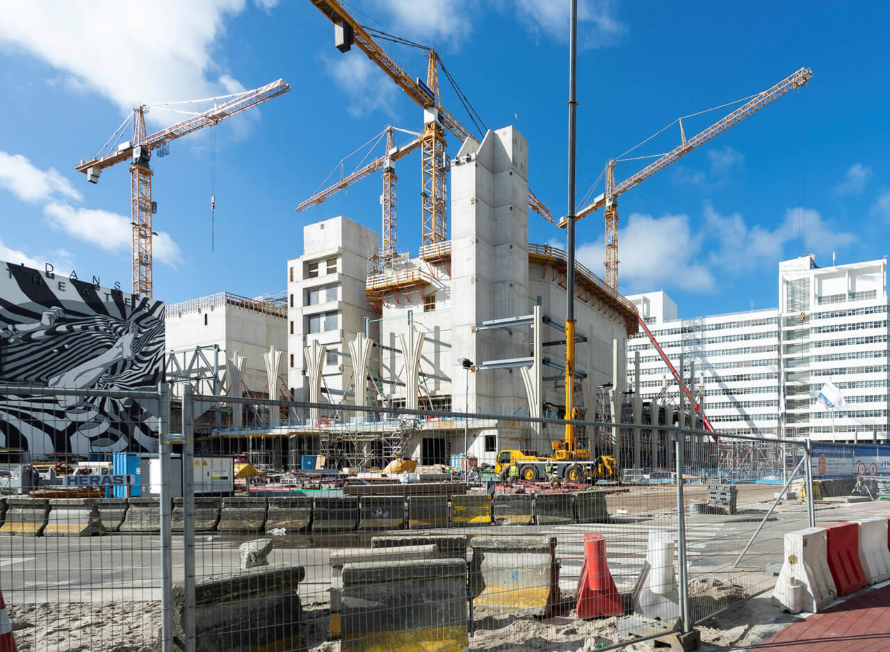 Den Haag, 5 maart 2019.De bouwplaats van OCC, FOTO MARTIJN BEEKMAN