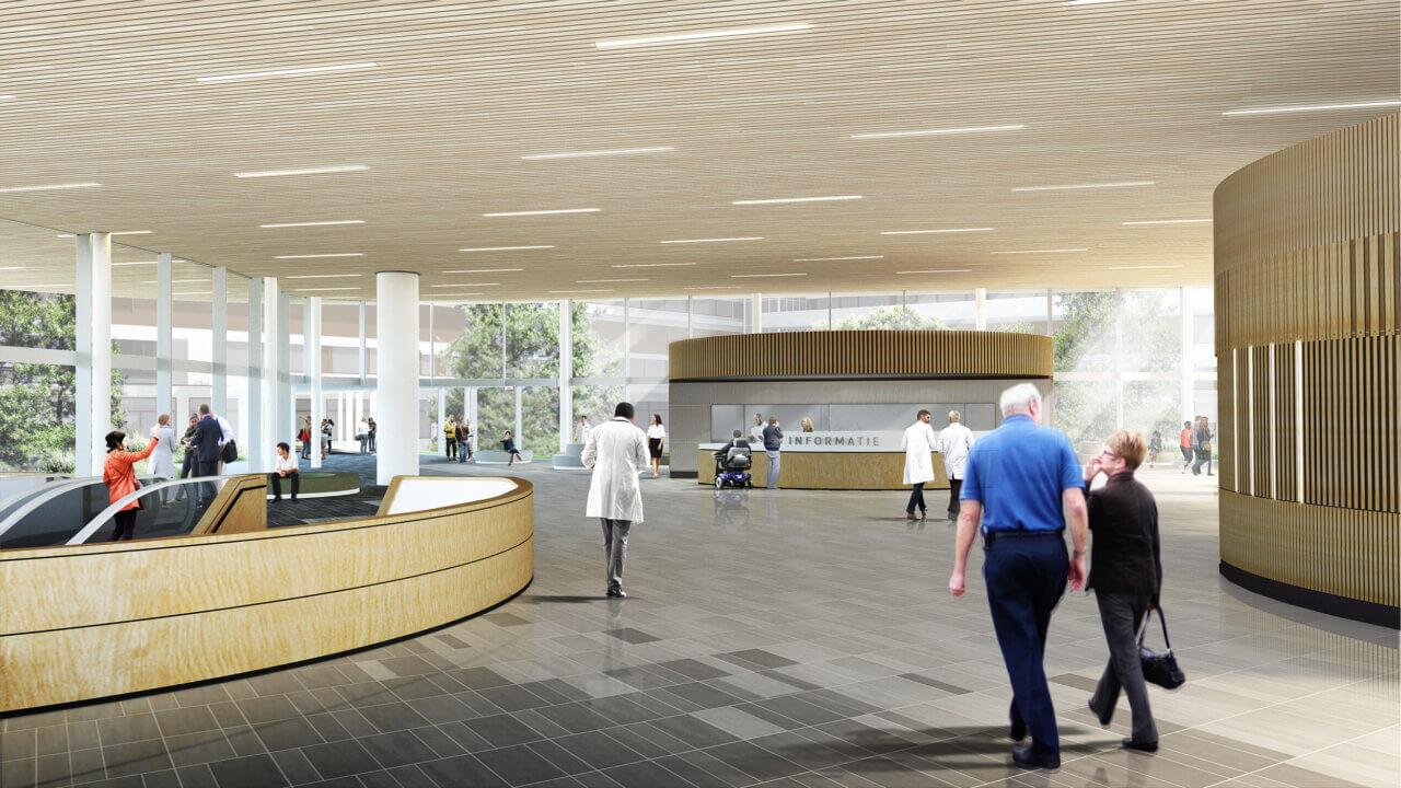 AMC Health Park interieur ovv Temp.architecture & studio Nuy van Noort i.s.m. studio Blad