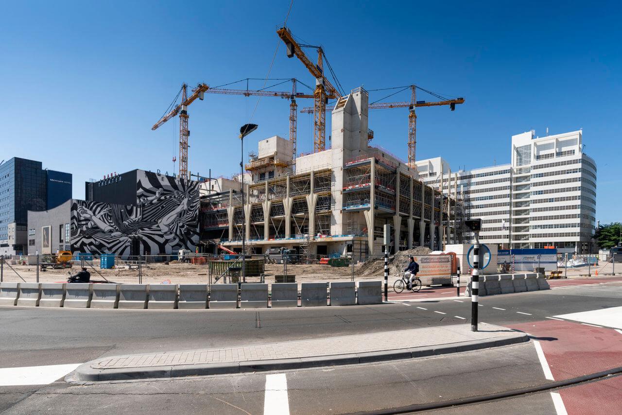 Den Haag, 24 mei 2019.Bouwplaats OCCFOTO MARTIJN BEEKMAN /