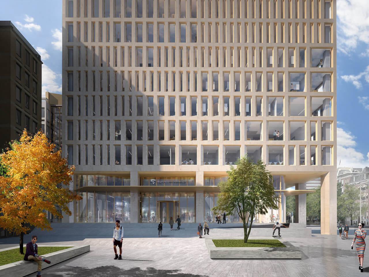 Powerhouse Company - Rhijnspoorgebouw - Rhijnspoorplein - Image by Powerhouse Company sm
